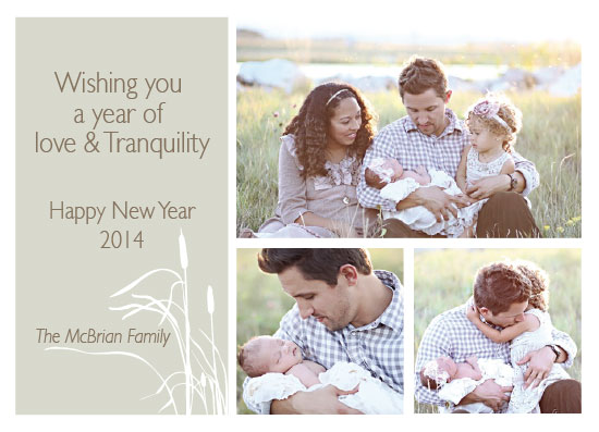 new year's cards - Love & Tranquility by Katherine Reynaud