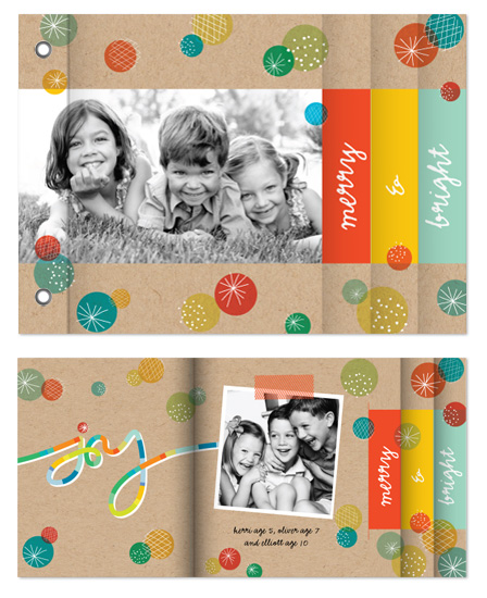 minibook cards - Color Pops by fatfatin