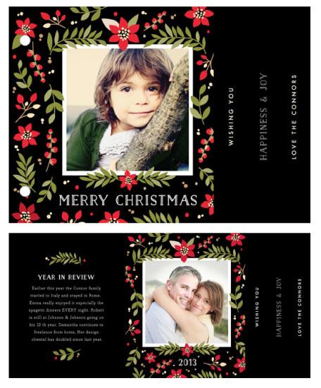 minibook cards - Poinsettia by Yolanda Mariak Chendak