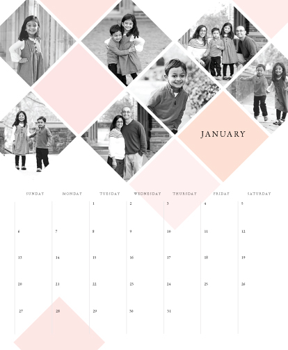 calendars - Diamond Tile by Fig and Cotton