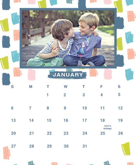 calendars - Painted Doodles 2 by Penelope Strange