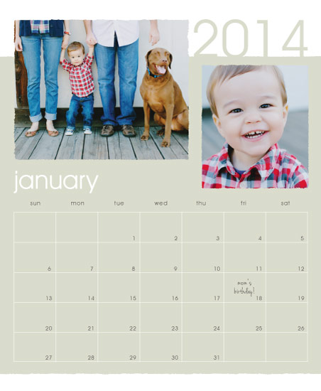 calendars - Modern Deckle by Melissa Boyce