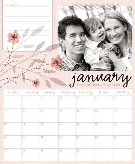 calendars - pink N pretty by Danielle Hartgers
