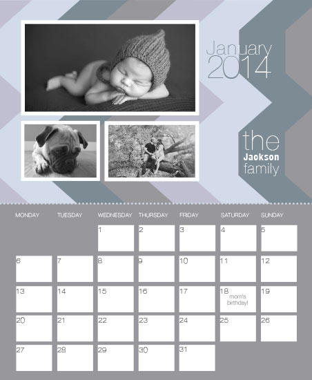 calendars - Jackson Family by dolgor
