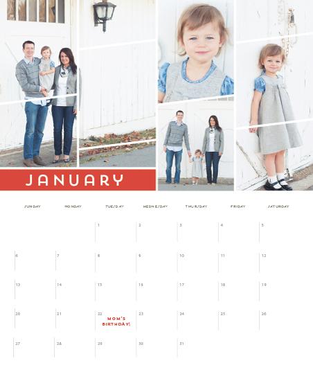 calendars - off-center by Rebecca Bowen