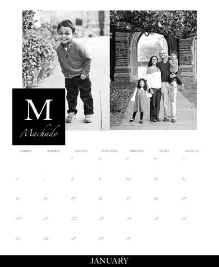 calendars - Family First by Danielle Silva
