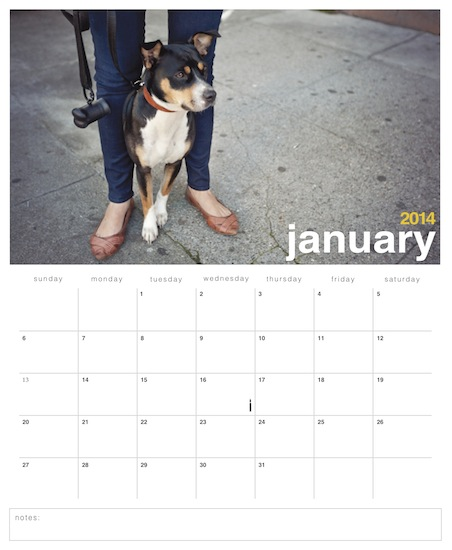 calendars - Simply Clean Year by loves me knot designs