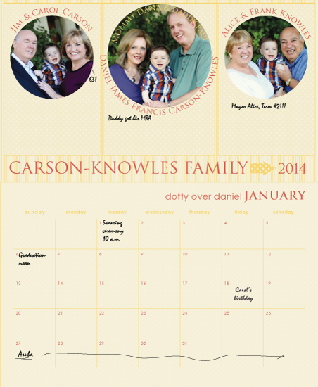 calendars - Dotty for You by MK Colling