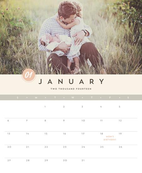 calendars - Soft Hues by Chryssi Tsoupanarias