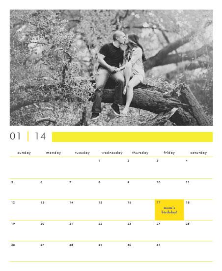 calendars - Bright Neutrals by Priyanka Nayar