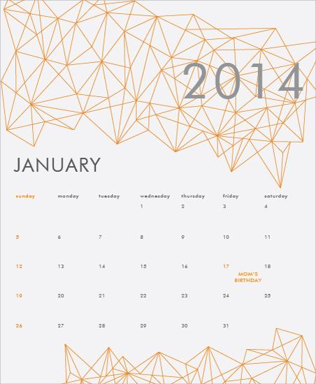 calendars - Myriad Connections by Priyanka Nayar