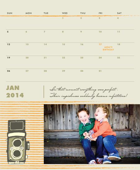 calendars - Click in Time by Priyanka Nayar