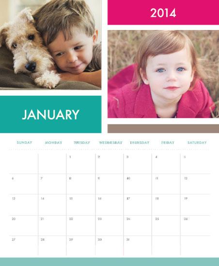 calendars - Modular Family by Andri