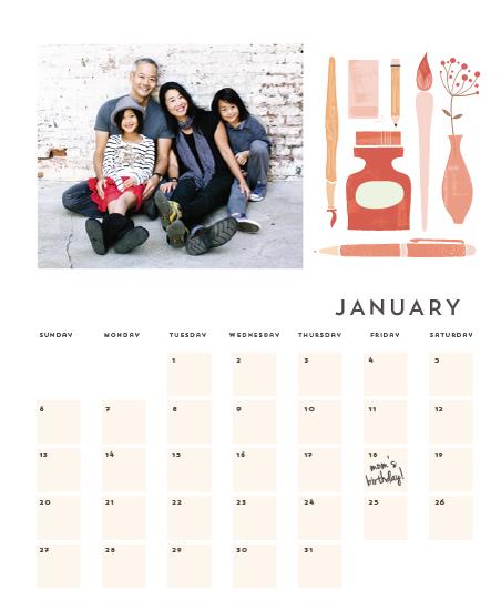 calendars - Desk Calendar by Lori Wemple