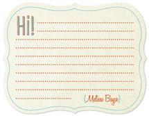 Hi! by Melissa Boyce