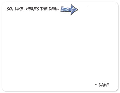 personal stationery - Here's the Deal by Melissa Boyce