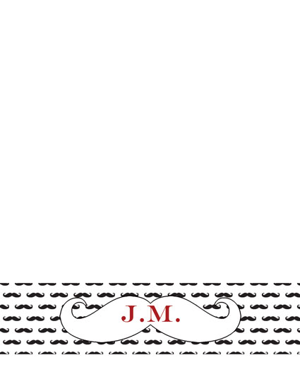 personal stationery - Mustache Personalized Stationary by Sweet Noting