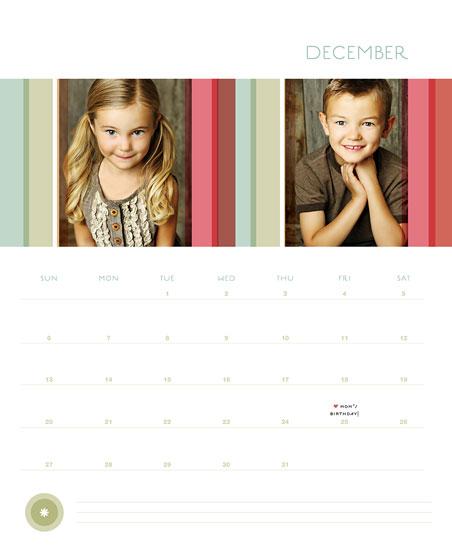 calendars - Striae by Carol Fazio