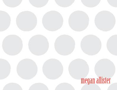 personal stationery - Spots by Melissa Boyce