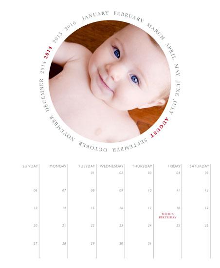 calendars - Circle by Erin Deegan