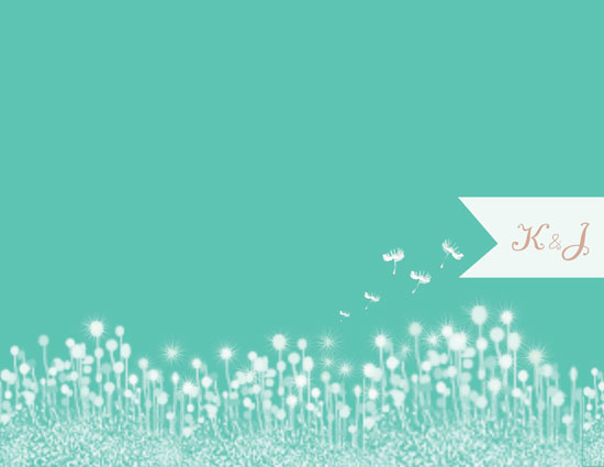 personal stationery - Wish on a Dandelion by Sweet Noting