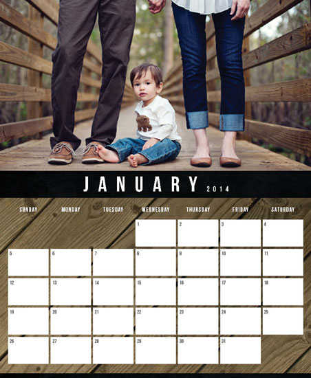 calendars - Rustic Modern by Kat French