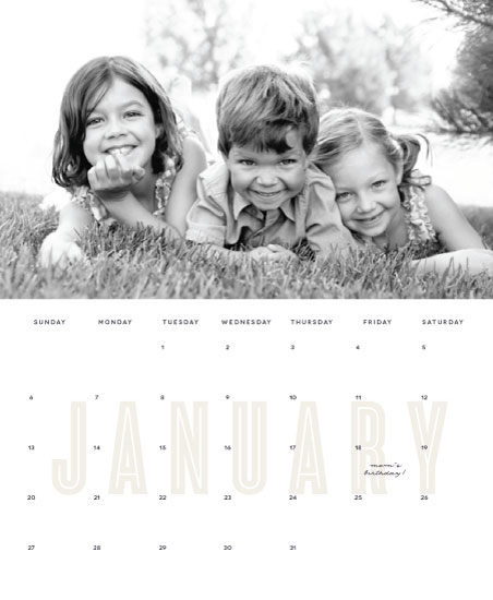 calendars - Striking Caps by Olivia Raufman