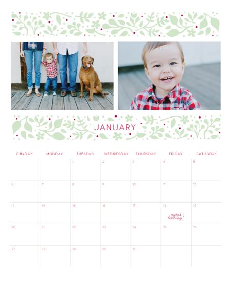 calendars - Happy Garden by Monica Schafer