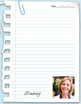 Notepaper by Lindsay Kivi