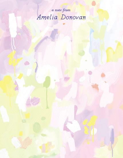 personal stationery - Spring by Penelope Strange