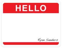 Hello sticker by Lindsay Kivi