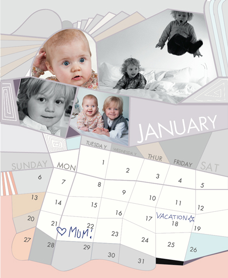 calendars - Funky Barcelona by mimicks