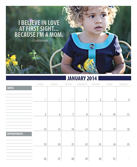 calendars - Quote Me by Sarah Simpson