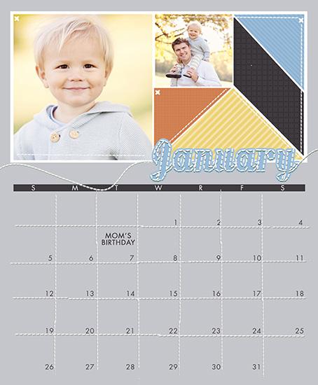 calendars - Memory Quilt by Sarah Simpson