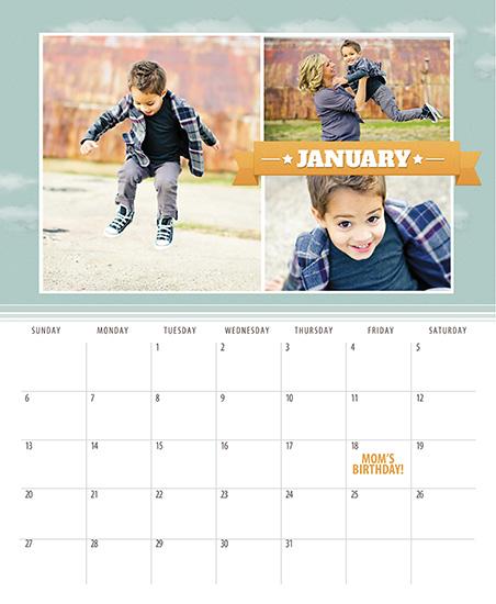 calendars - Rad Retro Banners by Sarah Simpson