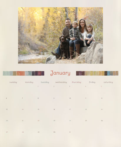 calendars - Watercolor Pixels 2014 by Tree Stokes
