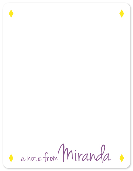 personal stationery - Casual Chic by Clara Pierce