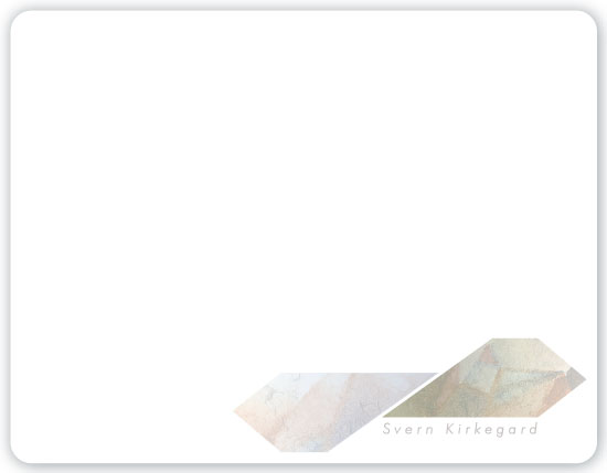 personal stationery - Stone and Subtlety by CVH Design