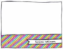 Doodles and Colours by Karina Padilla-Robinson