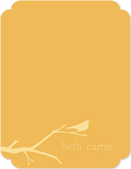 personal stationery - A Little Birdy by Rachel Olson