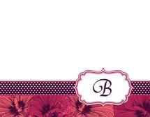 Floral Monogram by Vanessa Barber