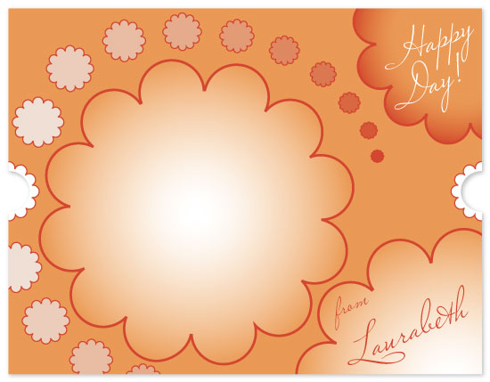 personal stationery - Happy Day by Jennifer Wiley
