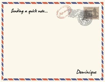 personal stationery - Sending a quick note... by Lindsay Kivi