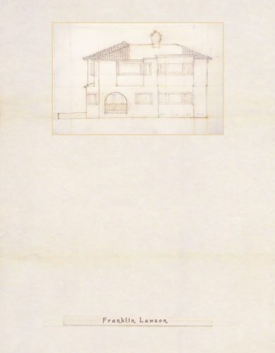 personal stationery - Arnie's House South by Tree Stokes