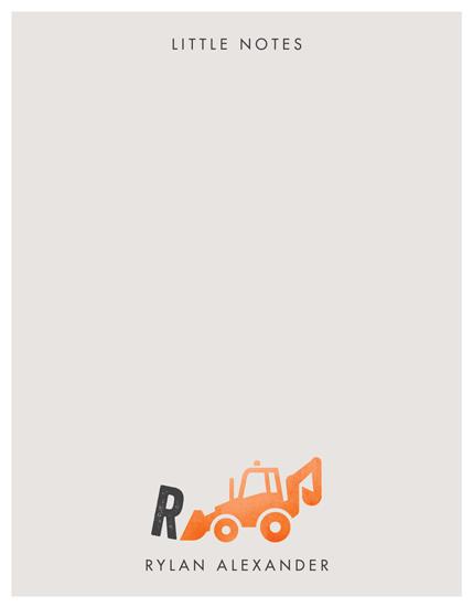 personal stationery - Little Loader by Erica Krystek