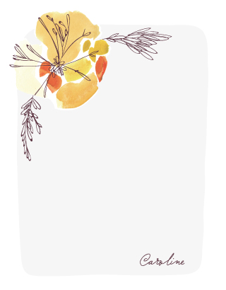 personal stationery - Fresh Picked by Kelly Ventura