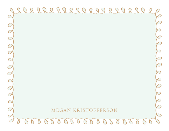 personal stationery - Not Too Shabby by Kim Dietrich Elam