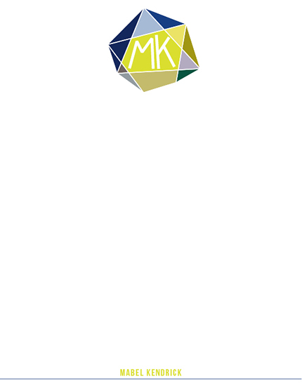 personal stationery - Diamond Initials by mimicks