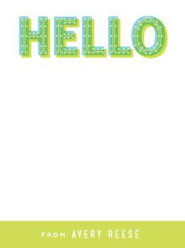 Big Bright Hello