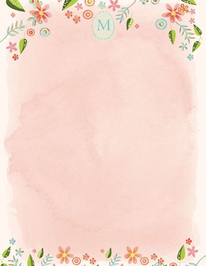 personal stationery - Garden Dream by Lilly Chern
